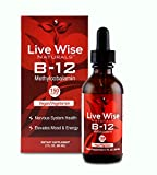 Cheap Vitamin B12 Sublingual Liquid Drops, Methylcobalamin, Vegan, 3000mcg = 60 Servings – 3000/6000mcg (2 oz. (150 Servings), No Flavor)