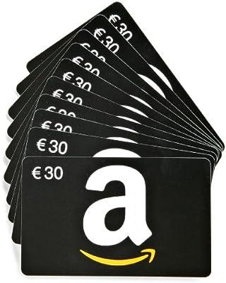 Tarjeta Regalo Amazon.es - €30 (Lote de 10 tarjetas): Amazon.es ...
