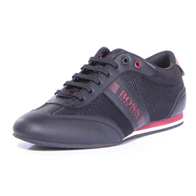 f3f419d12c3 Amazon.com  Hugo Boss Men s Lighter Low Mesh Sneaker  Shoes