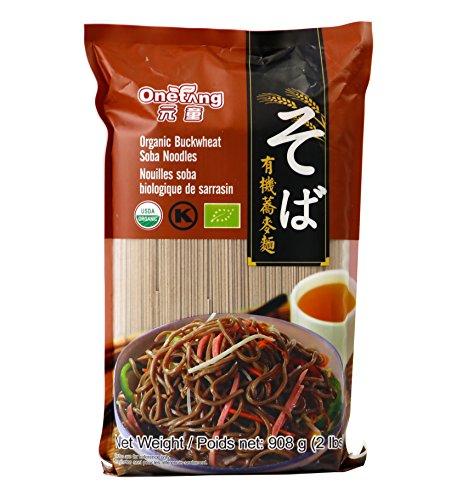 (Onatang Organic Soba Noodles Organic Buckwheat Soba Noodles Organic Buckwheat Pasta Vegan Kosher USDA Non-GMO 2lbs (32)