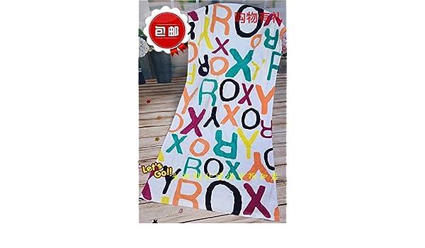 SunJin Boutique, puro algodón, algodón puro, absorción de agua, una toalla de baño grande ROXY tendencia grandes marcas de moda internacional par doble de ...