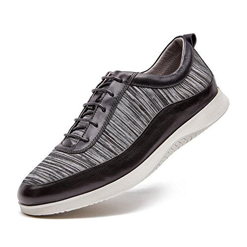 ZRO Men's Casual Fashion Sneakers Breathable Running Shoe GREY US 8.5