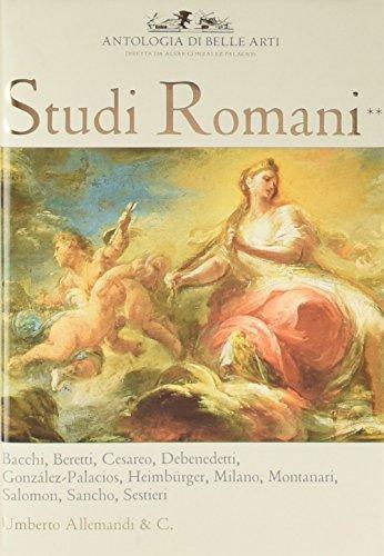 Studi Romani II: Antologa di Belle Arti