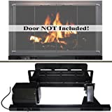 Stoll Fireplace Wood Grate Heater 22 x 20 Med Size