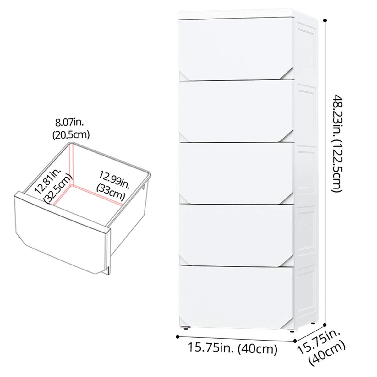 Amazon.com: Organizador de almacenamiento de plástico ...