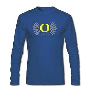 Classic Oregon Ducks For Mens Long Sleeves