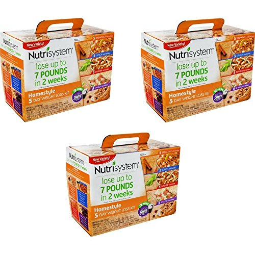 Nutrisystem® Homestyle 5 Day Weight Loss Kit (3 Pack) by Nutrisystem