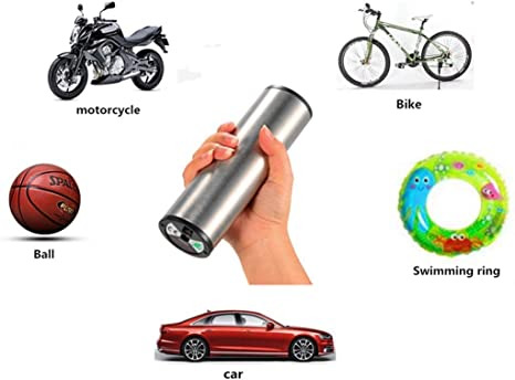 NSDFG Bomba de Alta presión de Carga portátil Mini Race Camino de Bicicletas de montaña de presión de neumáticos Pequeña Bomba de Aire eléctrica Piscina Inflable: Amazon.es: Deportes y aire libre