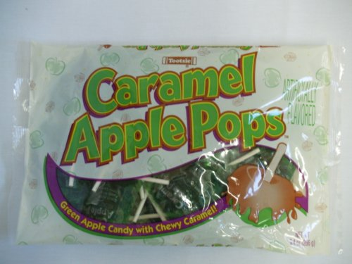 Tootsie Caramel Apple Pops 9.4oz Bag