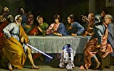 The Last Supper Star Wars Playmat 24 x 14 inch