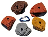 5 XL Sandstone Roof Jugs | Climbing Holds | Mixed Earth Tones