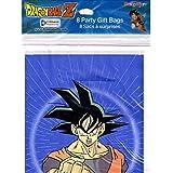 DRAGON BALL Z FAVOR BAGS 8 Anime Birthday Party Supplies Treat Loot Sacks