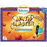 Skillmatics Educational Game : Math Master (6-9 Years) | Erasable and Reusable Activity Mats |  Addition, Subtraction, Multiplication, Division, Mental Math Games and More | Learning Tools for Kids