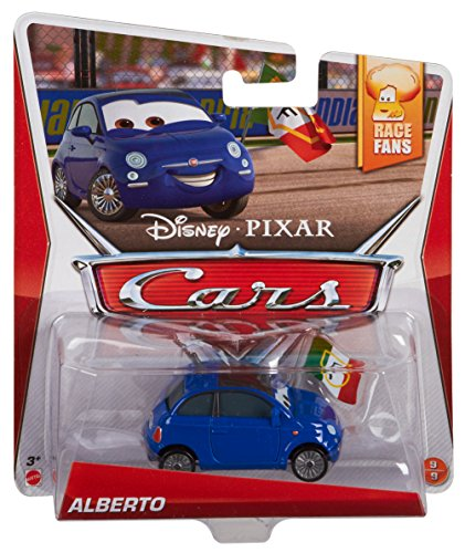 - Disney/Pixar Cars, Race Fans Die-Cast Vehicle, Alberto #9/9, 1:55 Scale