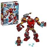 Toys : LEGO Marvel Avengers Iron Man Mech 76140 Kids' Superhero Mech Figure, Building Toy with Iron Man Mech and Minifigure, New 2020 (148 Pieces)