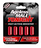 Ageless Male Tonight Total Rapid Sexual Performance Enhancement Supplement & Nitric Oxide Booster by New Vitality (12 Count)
