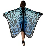 HITOP Halloween Party Dresses, Soft Fabric Butterfly Wings Shawl Fairy Ladies Nymph Pixie Costume Accessory