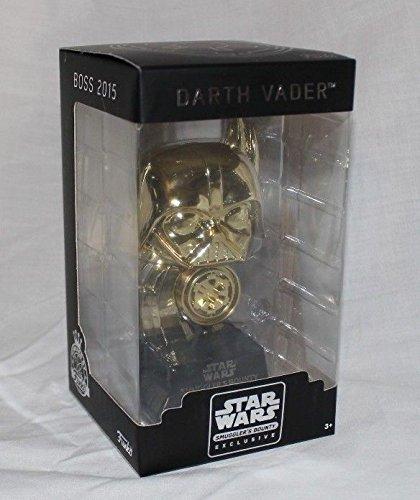 (Funko Star Wars Darth Vader Boss 2015 Smuggler's Bounty Exclusive Gold Figurine)