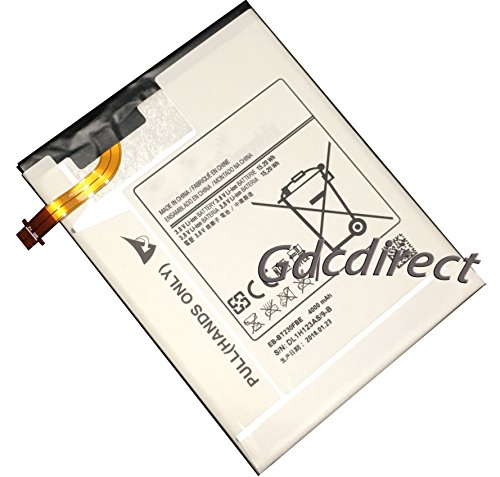 Replacement Galaxy Tab 4 7.0 EB-BT230FBE 4000mAh Internal Battery T230 T235 T239 by GDC Direct Inc