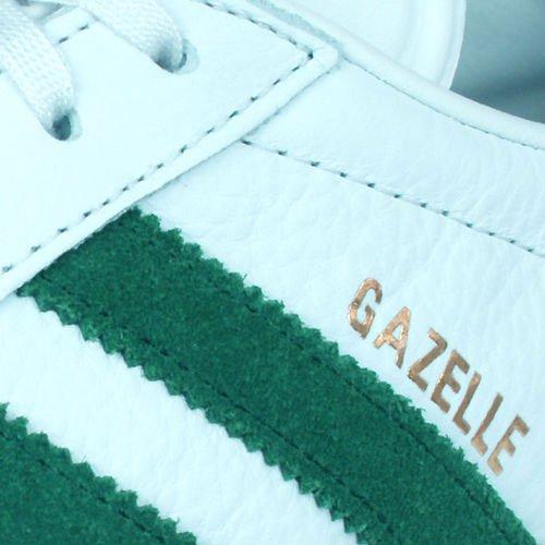 Herren Vinwht Schwarz Gymnastikschuhe Gazelle Cgreen S76228 Originals Bianco adidas Gum4 fxanUU