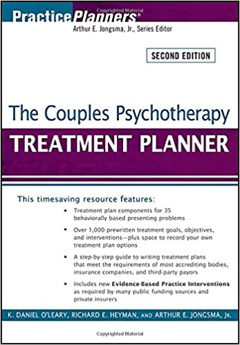 Amazon.com: The Couples Psychotherapy Treatment Planner ...