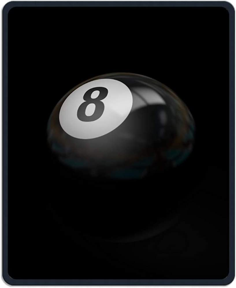 UQ Galaxy Alfombrilla para Ratón,Bola De Billar Negro 8 Imprimir Gaming Mouse Pad Almohadillas De Escritorio De Impresión Divertidas 30 * 25Cm: Amazon.es: Electrónica
