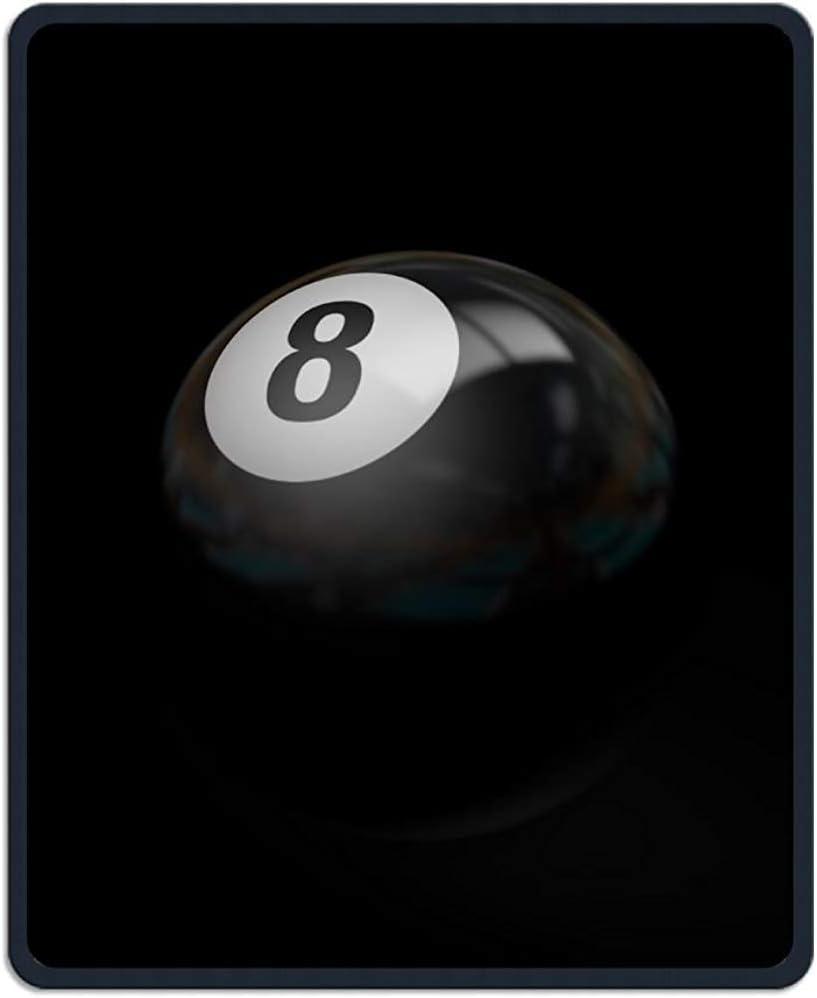 UQ Galaxy Alfombrilla para Ratón,Bola De Billar Negro 8 Imprimir ...