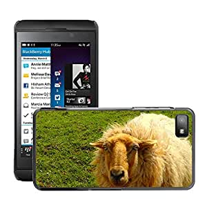 Super Stella Slim PC Hard Case Cover Skin Armor Shell Protection // M00147269 Sheep Wool Animal Flock Of Sheep // BlackBerry Z10