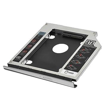 2º HDD SSD Marco óptico Adaptador de Disco Duro para HP Probook ...