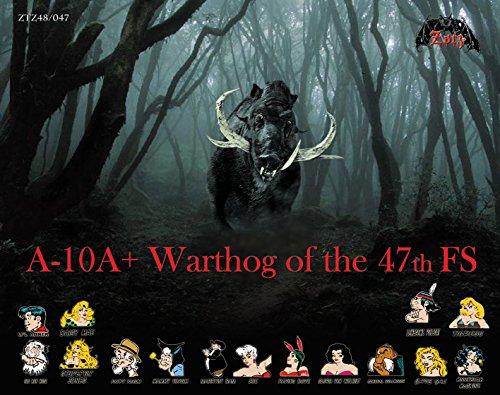 ZTZ48047 1:48 Zotz Decals - A-10A+ Thunderbolt II