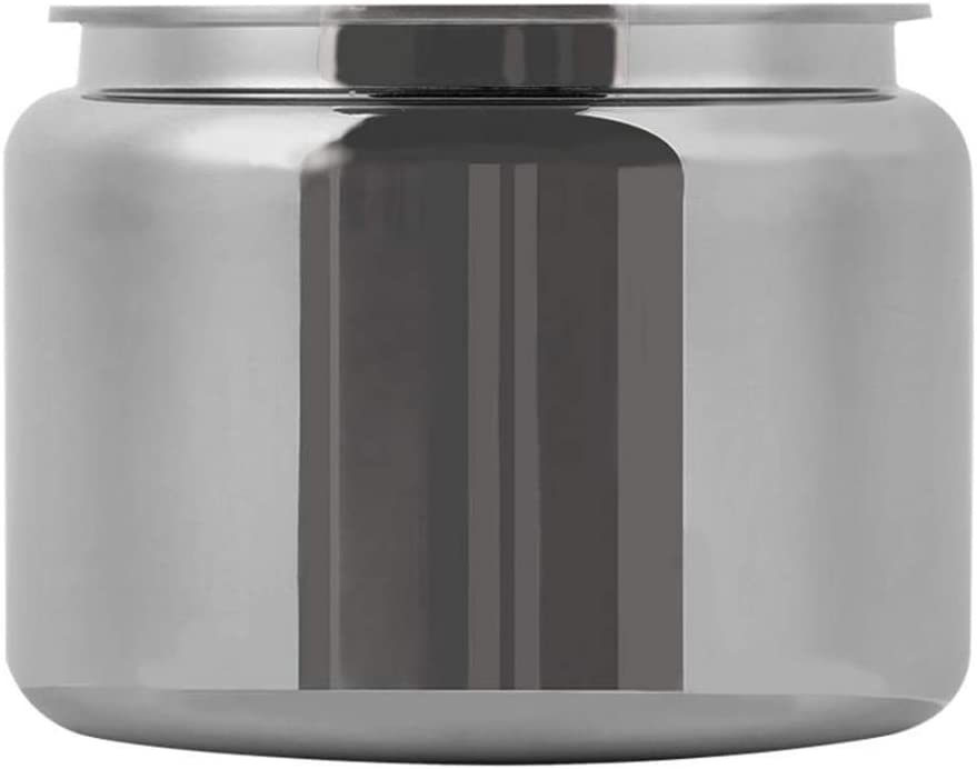 Bote de almacenamiento de acero inoxidable para té, café o café en polvo con bastón de algodón sellado: Amazon.es: Hogar