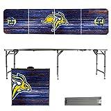 NCAA South Dakota State Jackrabbits Weathered Version 8 Foot Folding Tailgate Table
