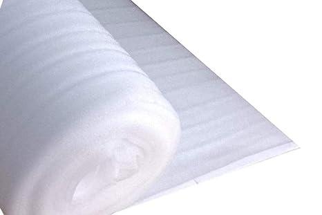 50 m² Trittschalldämmung 2 mm aus PE Schaum für Laminat Parkett als Unterlage