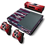 FriendlyTomato Xbox One Console and Controller Skin Set – Football NFL – PlayStation 4 Vinyl Review