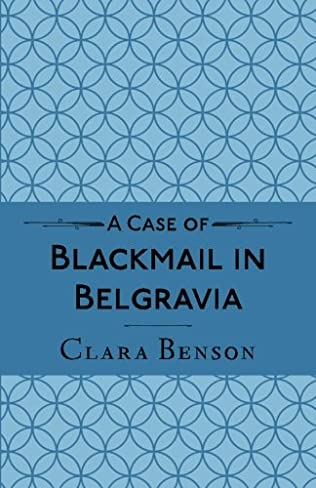 book cover of A Case of Blackmail in Belgravia