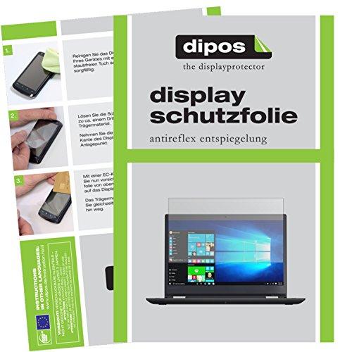 HD-Entspiegelung FX Folie atFolix Schutzfolie kompatibel mit Lenovo ThinkPad L390 Displayschutzfolie 2X