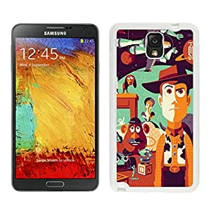 DIY Case Toy Story Samsung Galaxy Note 3 Case in White