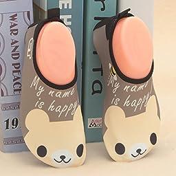 CIOR Mutifunctional Barefoot Kids Quick-Dry Water Shoes Lightweight Aqua Socks For Beach Pool Surf Yoga Exercise,sky1606,bear,22.23