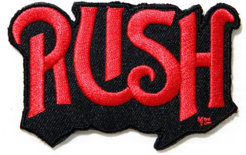 RUSH Punk Rock Heavy Metal Music Band Logo Patch Sew Iron on Embroidered Appliques Badge Sign Costume Gift by PRINYA SHOP