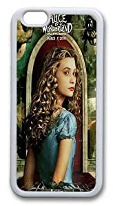iPhone 6 Plus Cases & Covers -Tim Burton Alice in Wonderland Movie Custom TPU Soft Case Cover Protector for iPhone 6 Plus 5.5 inch White