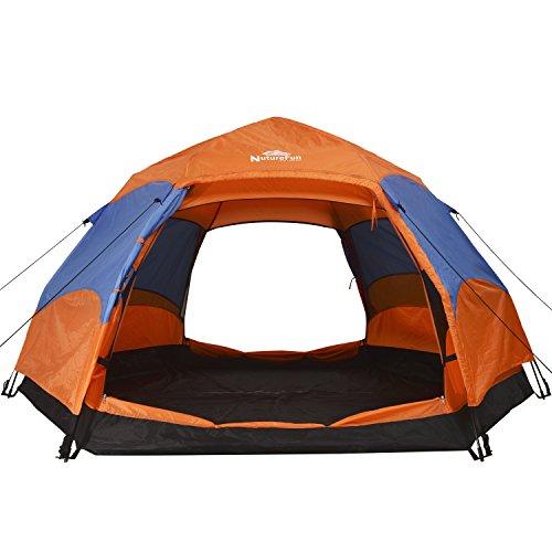 nuturefun 3-4 Person 4 Jahreszeiten Wasserdicht Wandern/Camping Outdoor Zelten,260*140*240cm (L * H * W)