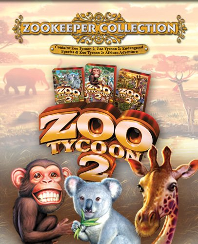 Amazon com: Zoo Tycoon 2: Zookeeper Collection - PC: Video Games