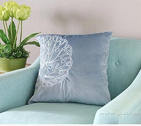 Cojines de un sofá estampado, almohadilla del terciopelo,550 ...