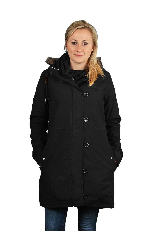 Adidas Fur Woven Parka Black W64682