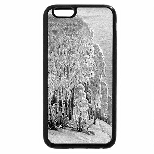 iPhone 6S Case, iPhone 6 Case (Black & White) - P. Chuvargin. Winter Sun
