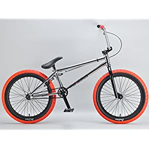 Mafiabikes Kush 2+ 20 inch BMX Bike Chrome