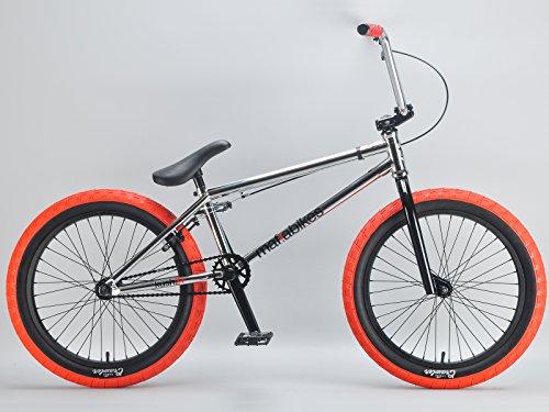 Mafiabikes Kush 2+ 20 inch BMX Bike CHROME