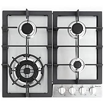 Amazon.com: Magic Chef mcsctg24s 24-Inch construido en Gas ...