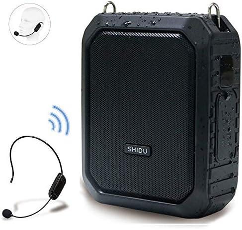 Amplifier Rechargeable Bluetooth Loudspeaker Waterproof