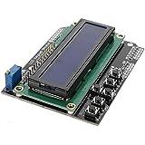 SODIAL(R)キーパッド シールド ボード ブルー バックライト Arduinoロボット LCD 1602 1280 2560 UNO US用品